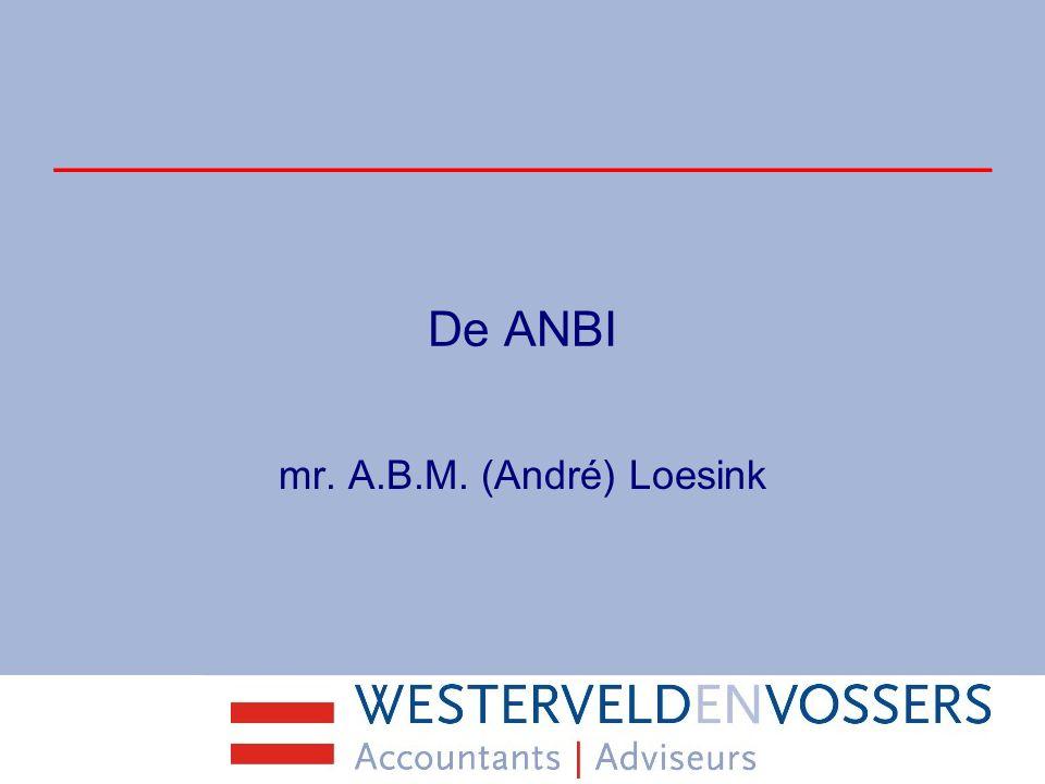 De SBBI Sociaal belang behartigende instelling Vanaf 2010 Behartiging sociaal belang Alleen vrijstelling erf- en schenkbelasting Giften voor donateurs niet aftrekbaar