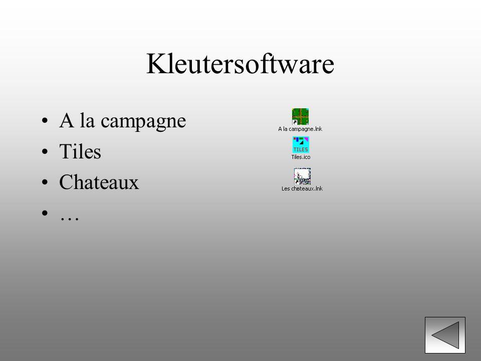 Kleutersoftware A la campagne Tiles Chateaux …