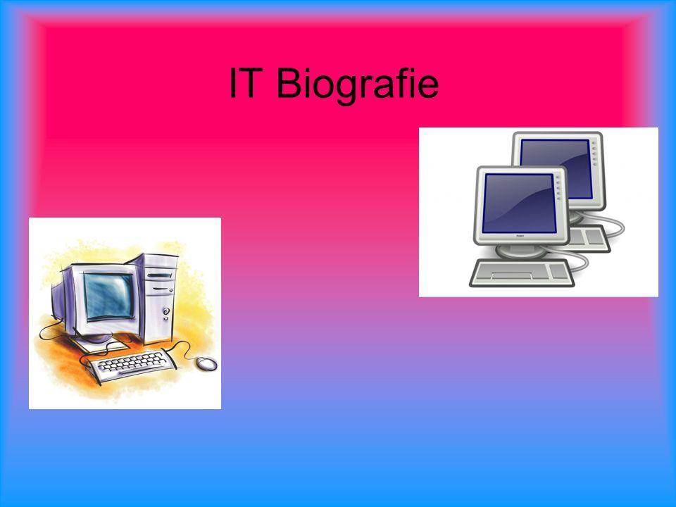 inleiding 1.Wat is it biografie 2.Opgroeien met computers 3.Computers op school en werk 4.Mijn toekomst en de rol van de pc 5.Interview 6.Visitekaartje 7.nawoord