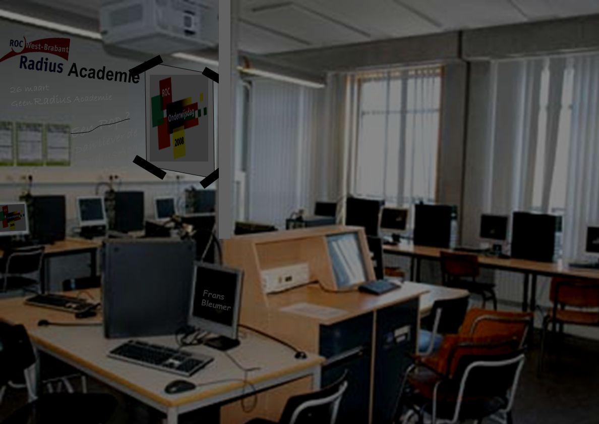Frans Bleumer Een Pop Dan liever de Radius Academie 26 maart Geen Radius Academie Academie
