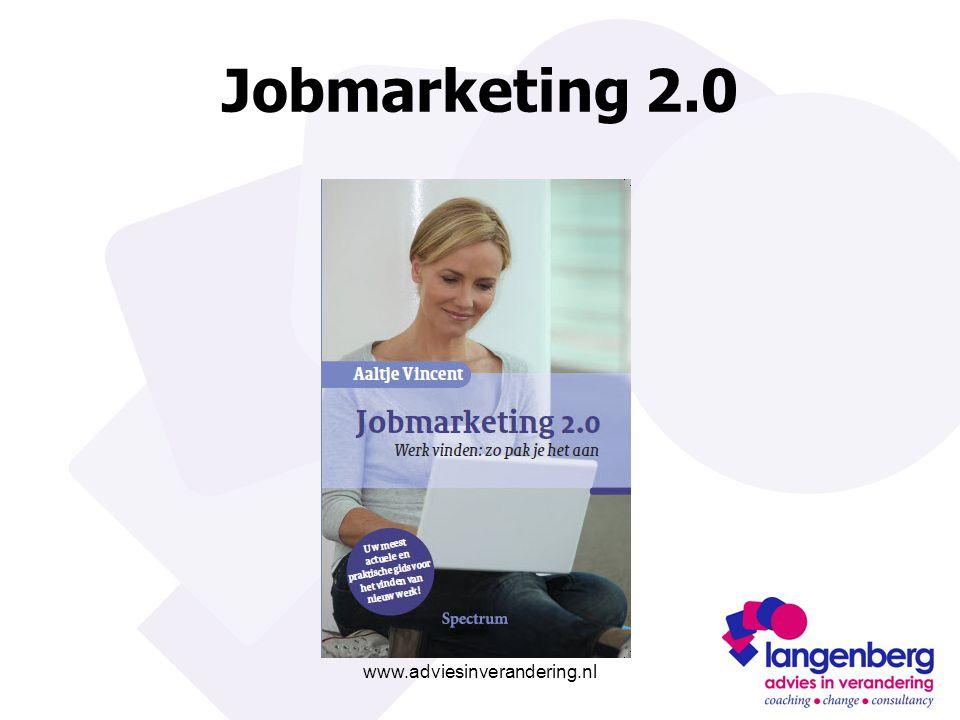 www.adviesinverandering.nl Jobmarketing 2.0