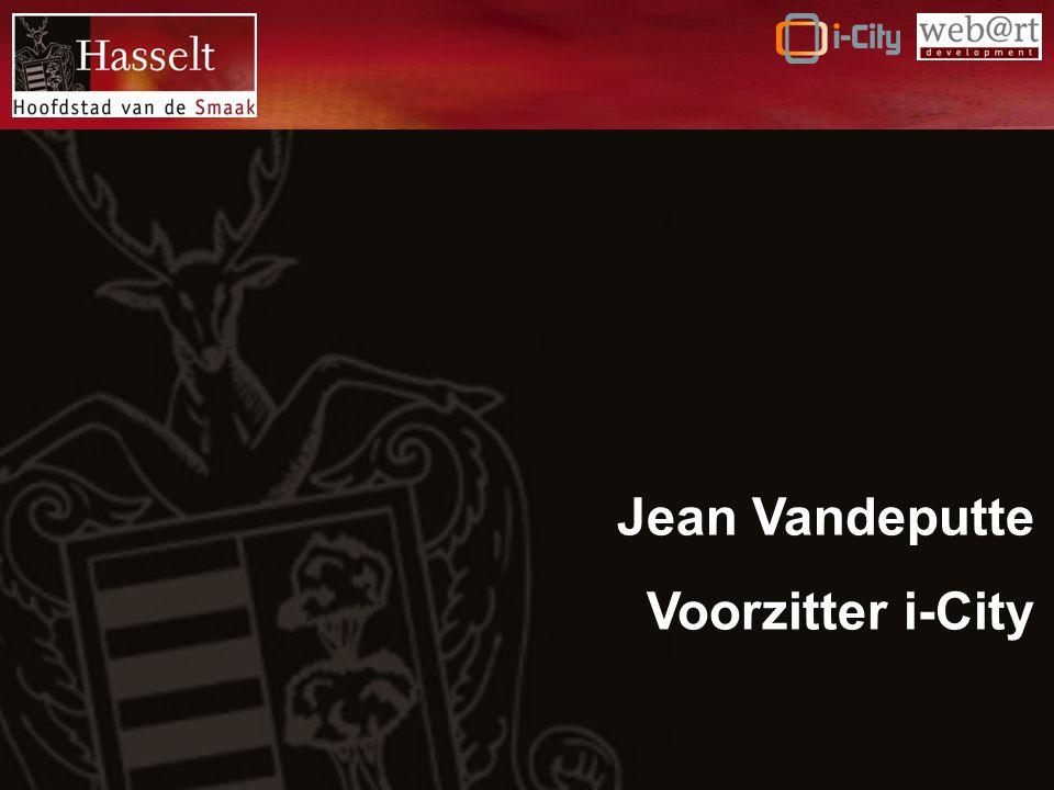 Jean Vandeputte Voorzitter i-City
