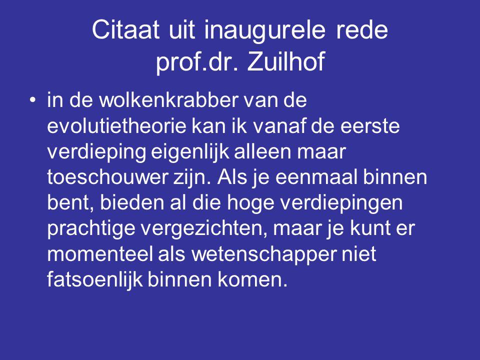 Citaat uit inaugurele rede prof.dr.