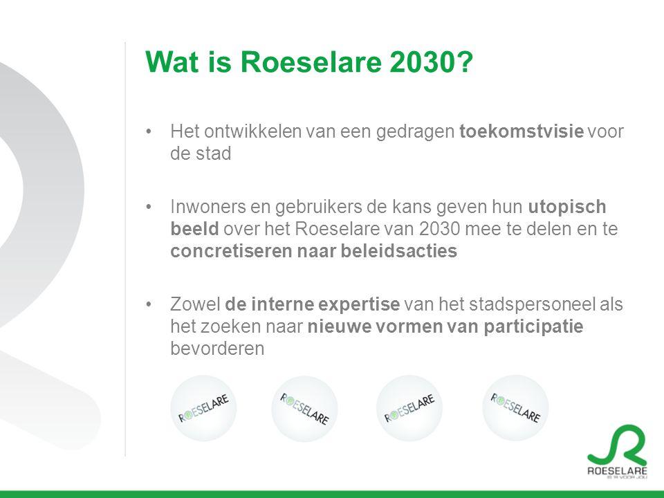 Wat is Roeselare 2030.