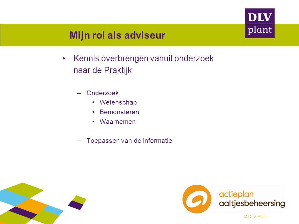 © DLV Plant Actieplan Aaltjesbeheersing Kennisakker –http://www.kennisakker.nl/initiatieven/actieplan-aaltjesbeheersinghttp://www.kennisakker.nl/initiatieven/actieplan-aaltjesbeheersing Rode lampen http://www.kennisakker.nl/kenniscentrum/document/rode-lampen- beheersing-aaltjes Brochures http://www.kennisakker.nl/files/Kennisdocument/Folder_bemonstering _aaltjes_1207.pdf http://www.kennisakker.nl/files/Kennisdocument/Folder_Aaltjesherken ning_0406.pdf Tipkalender