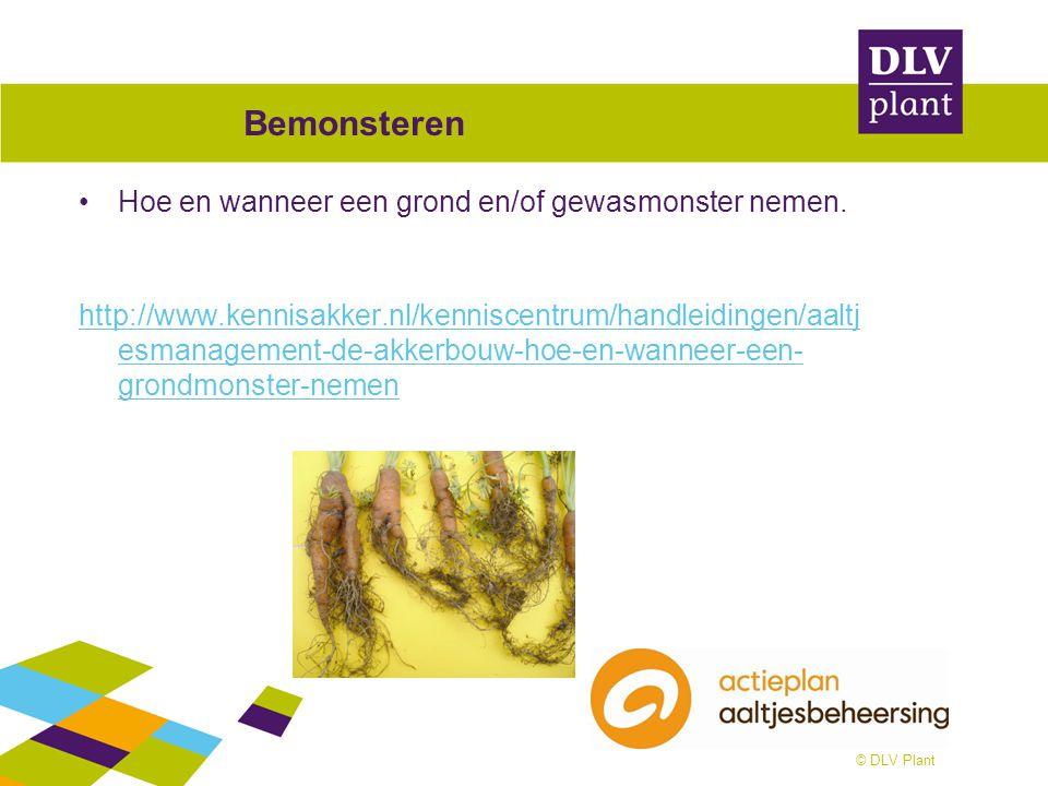 Bemonsteren Hoe en wanneer een grond en/of gewasmonster nemen. http://www.kennisakker.nl/kenniscentrum/handleidingen/aaltj esmanagement-de-akkerbouw-h