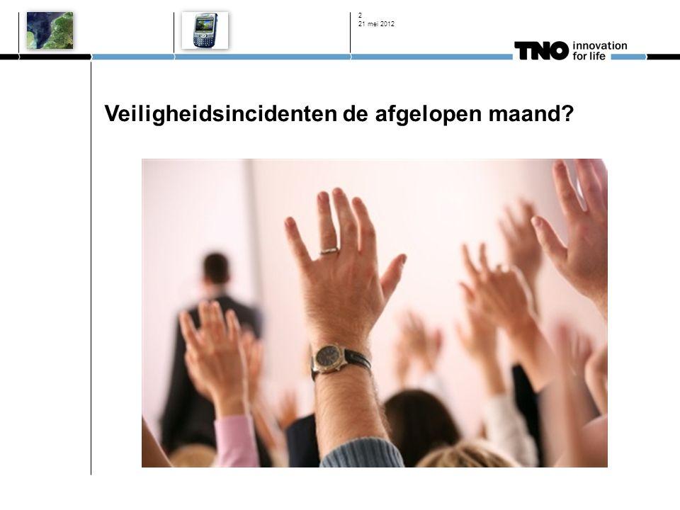 Stelling ICT beveiliging is een zaak van de IT afdeling 21 mei 2012 13