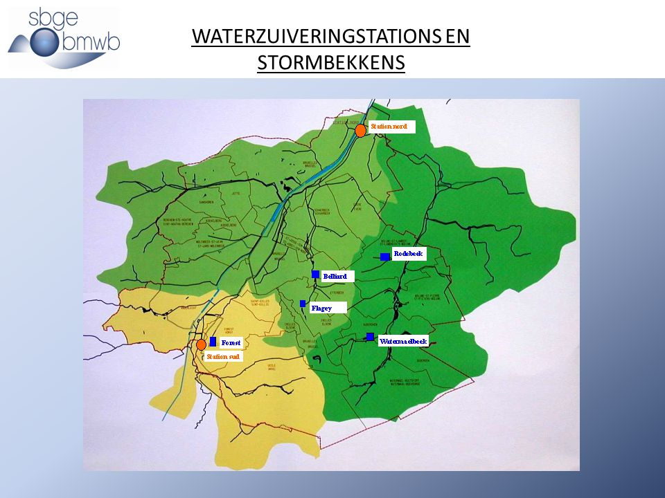 WATERZUIVERINGSTATIONS EN STORMBEKKENS