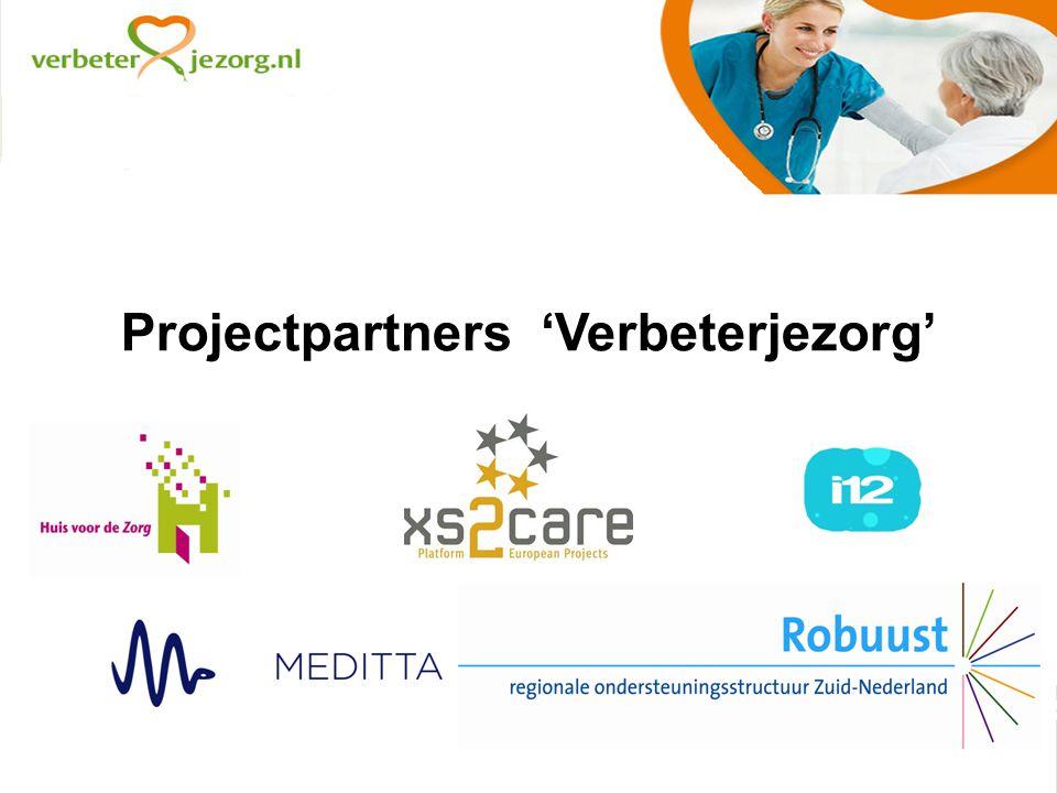 Projectpartners 'Verbeterjezorg'