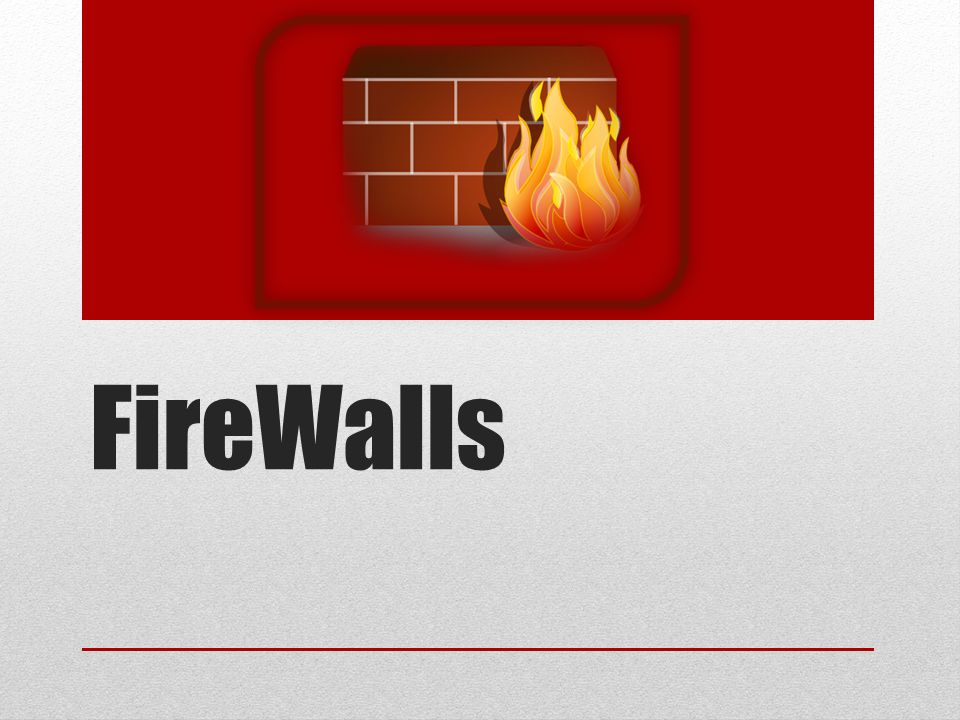 Wat is een Firewall.