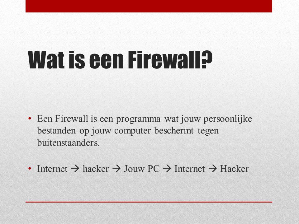 Geschiedenis van de Firewall -Geschiedenis van firewall is nog niet zo oud -Tegenwoordige virusscanners