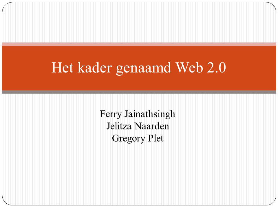 Web 2.0 staat voor het online in contact komen met andere mensen.