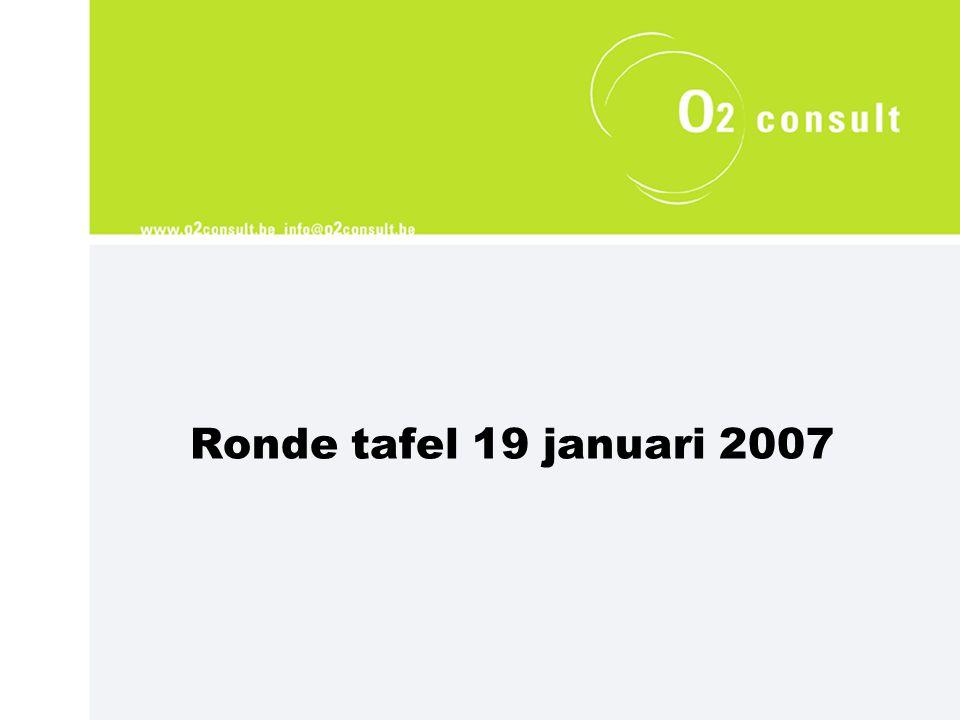 Ronde tafel 19 januari 2007