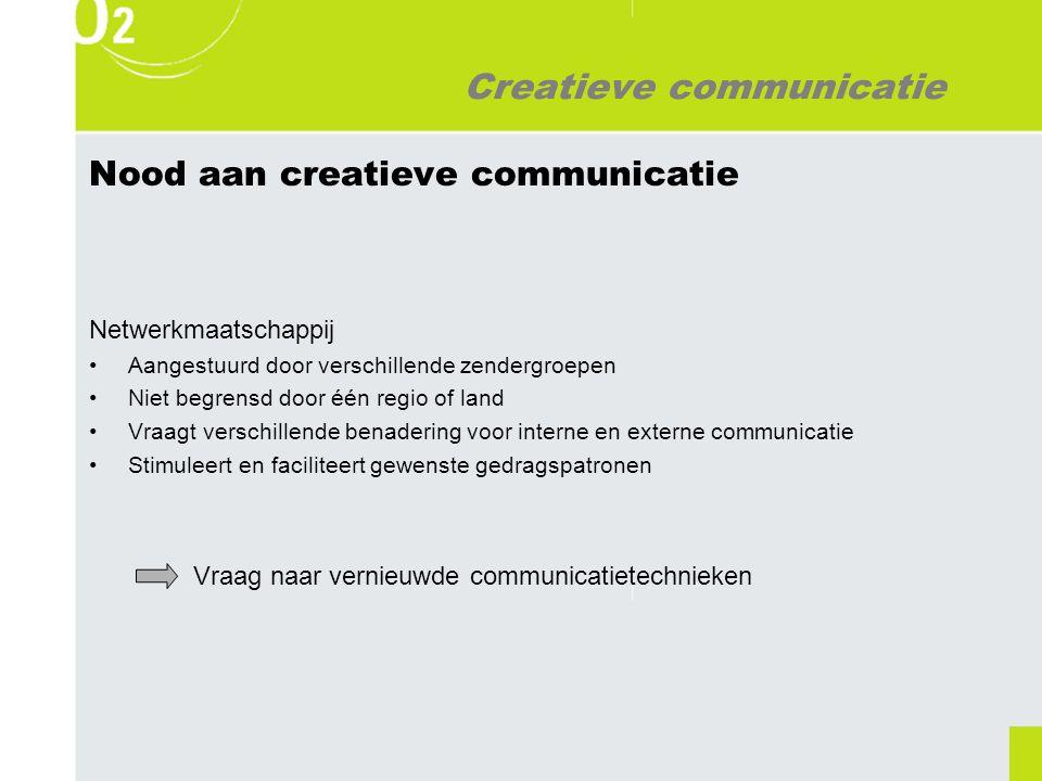 Creatieve communicatie Wat is creatieve communicatie.