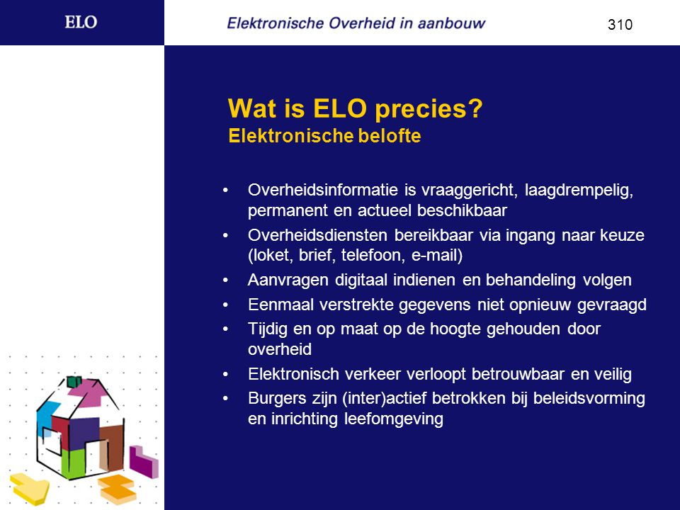 Wat is ELO precies.