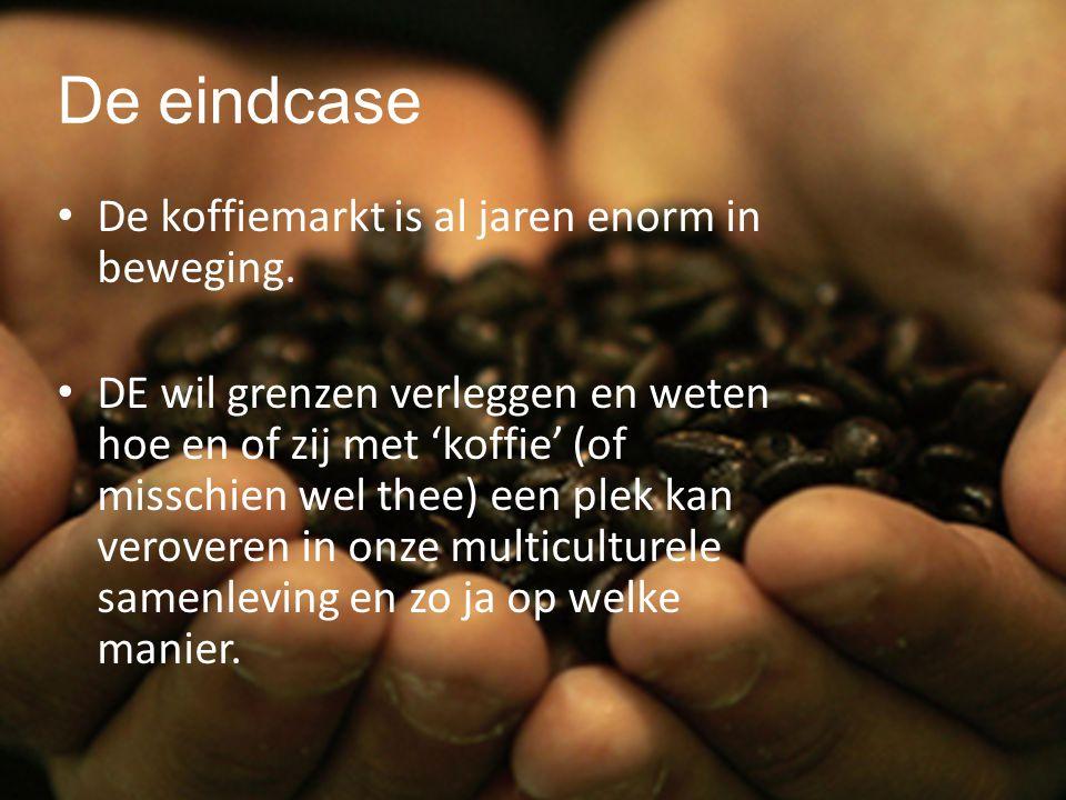 tre nd wa tch ing De eindcase De koffiemarkt is al jaren enorm in beweging.