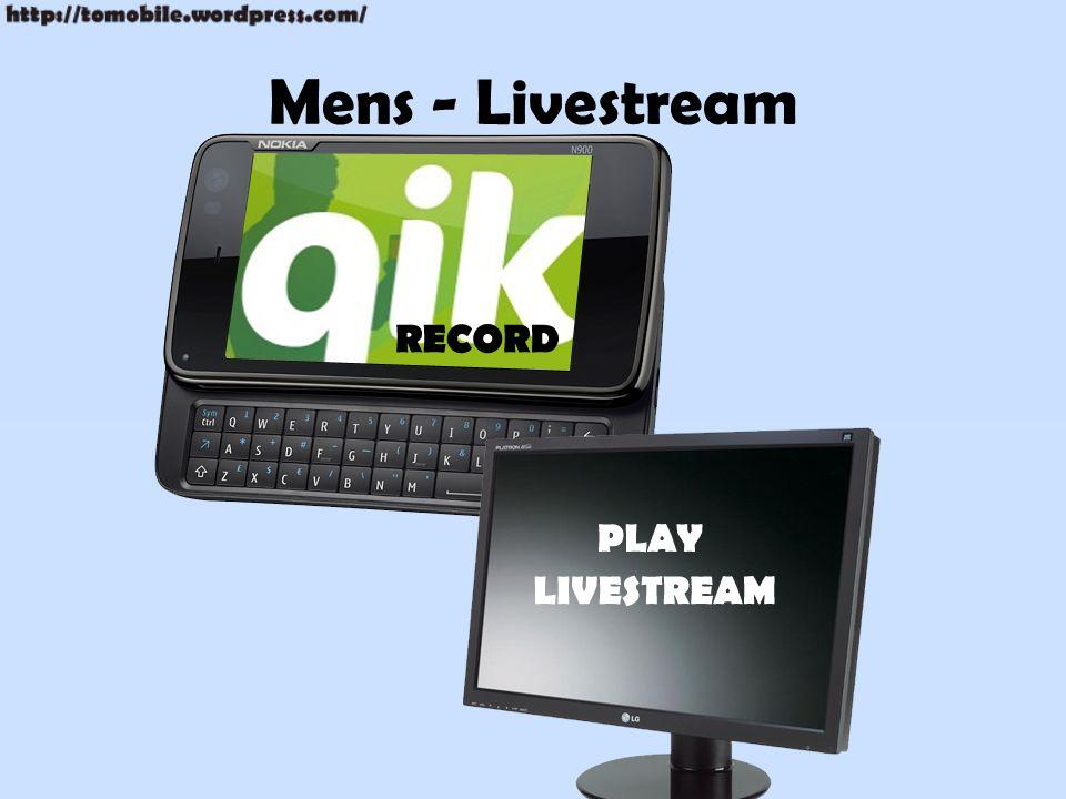 Mens - Livestream