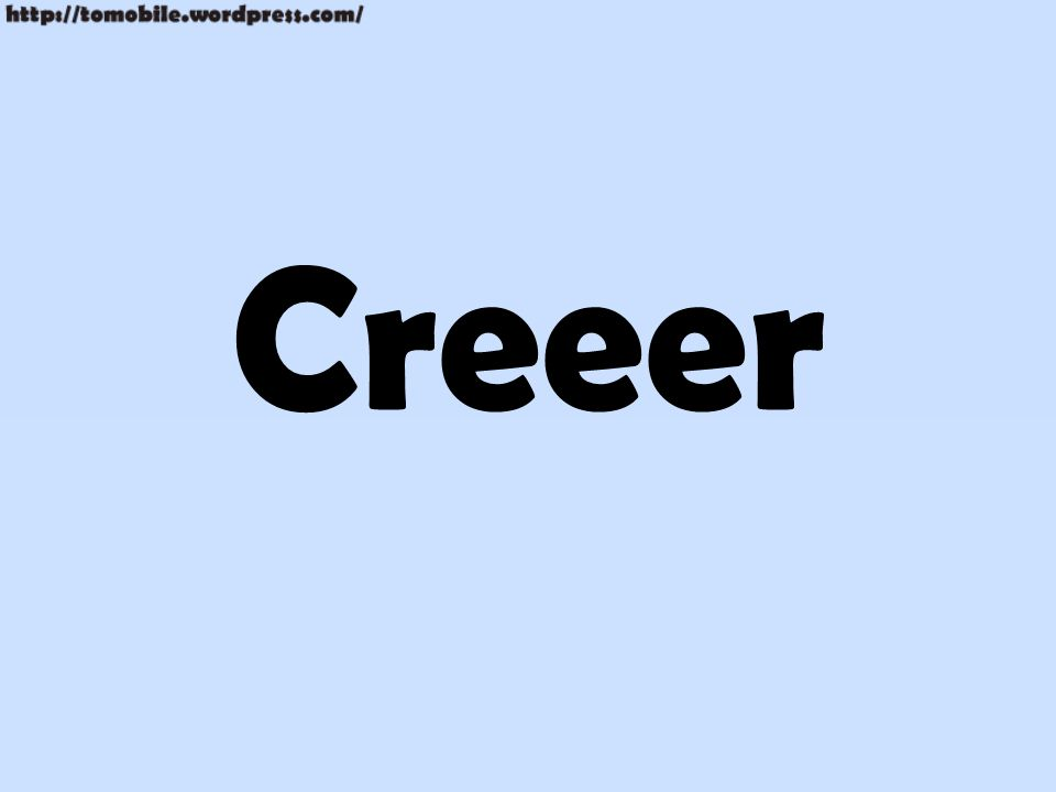 Creeer