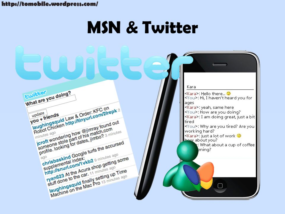 MSN & Twitter