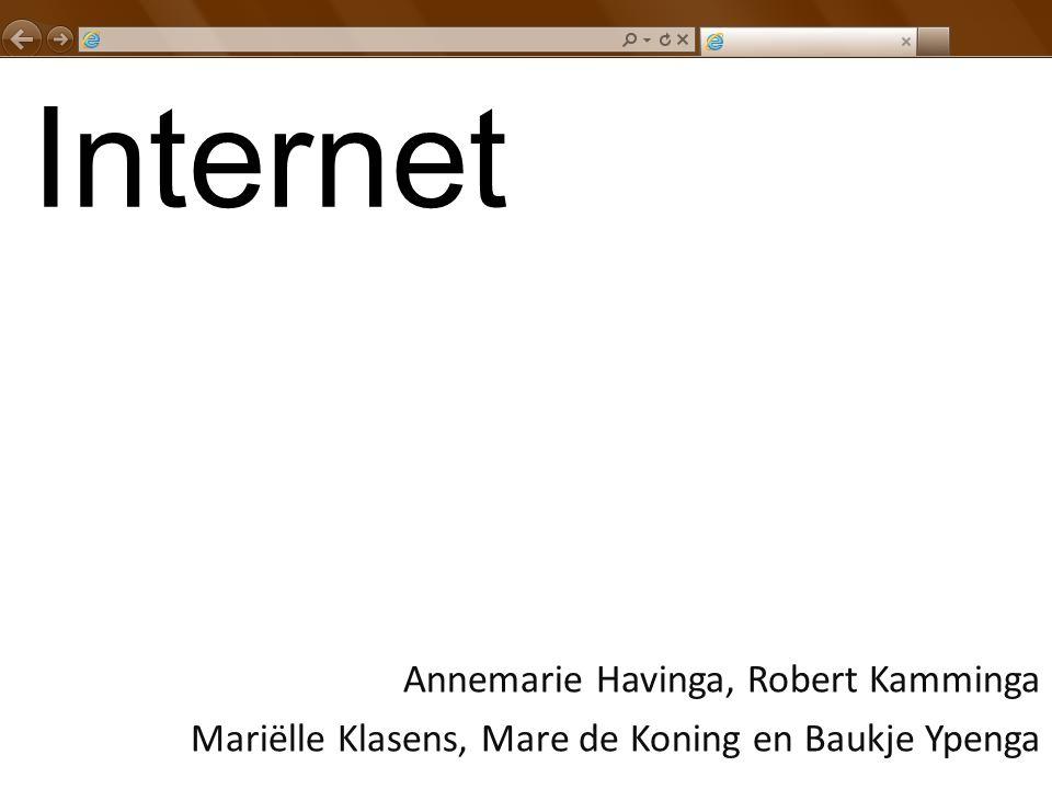 Internet Annemarie Havinga, Robert Kamminga Mariëlle Klasens, Mare de Koning en Baukje Ypenga