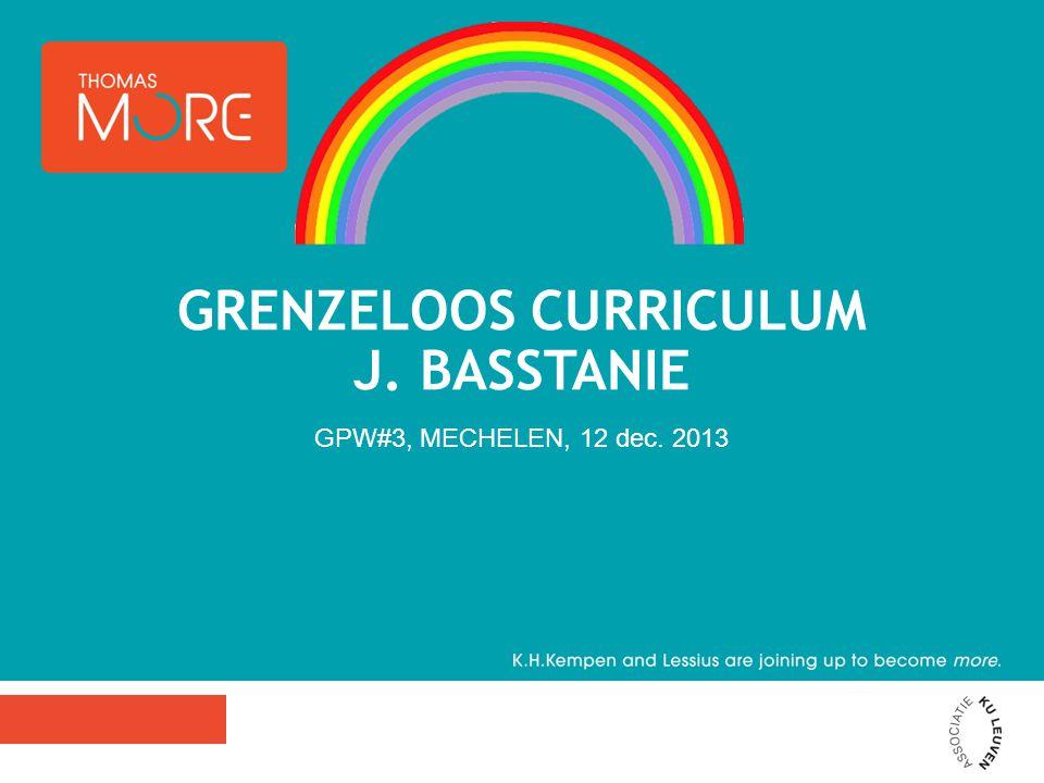 GRENZELOOS CURRICULUM J. BASSTANIE GPW#3, MECHELEN, 12 dec. 2013
