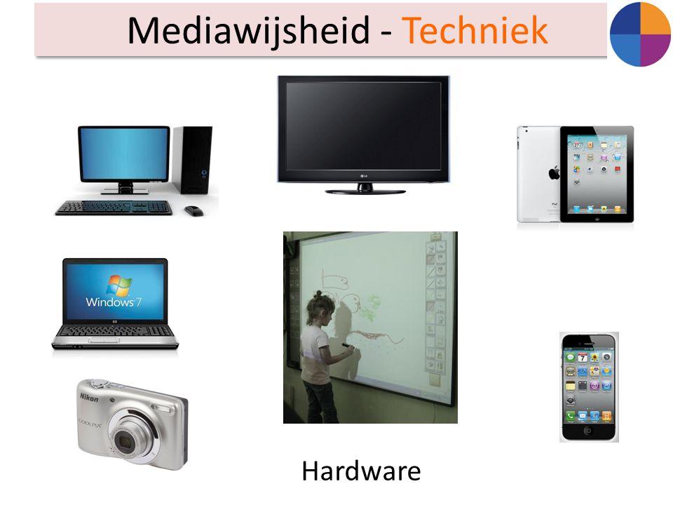 Mediawijsheid - Techniek Hardware