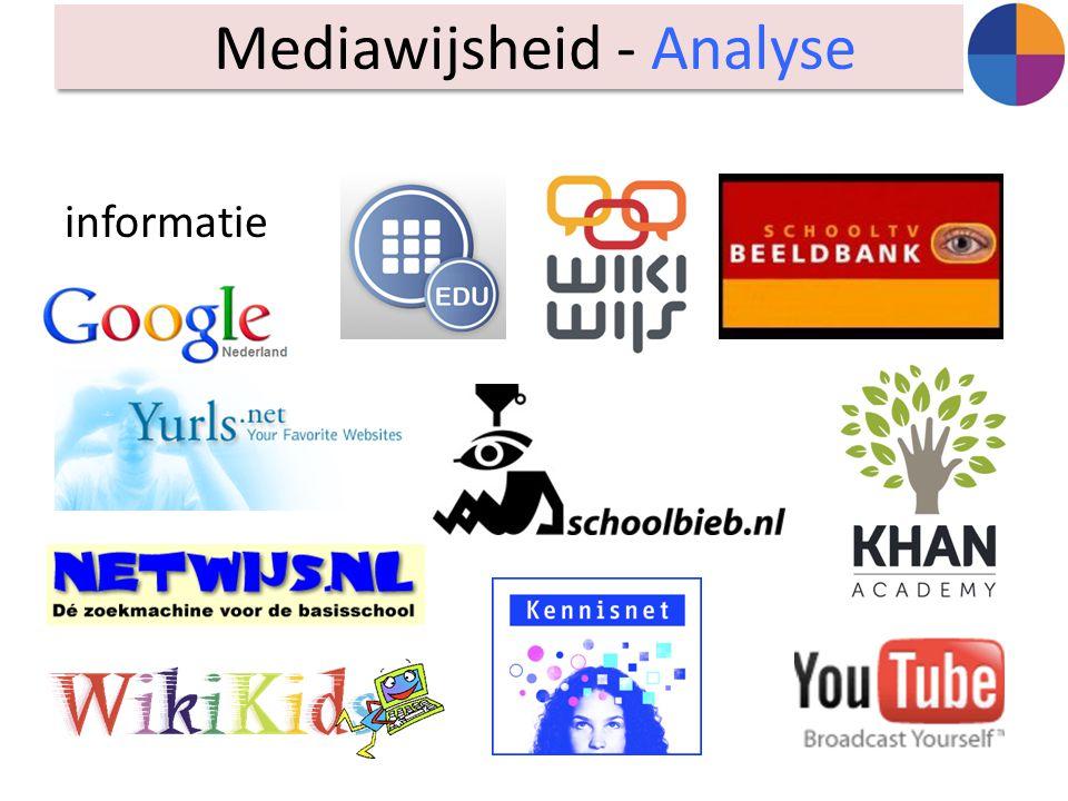 informatie Mediawijsheid - Analyse