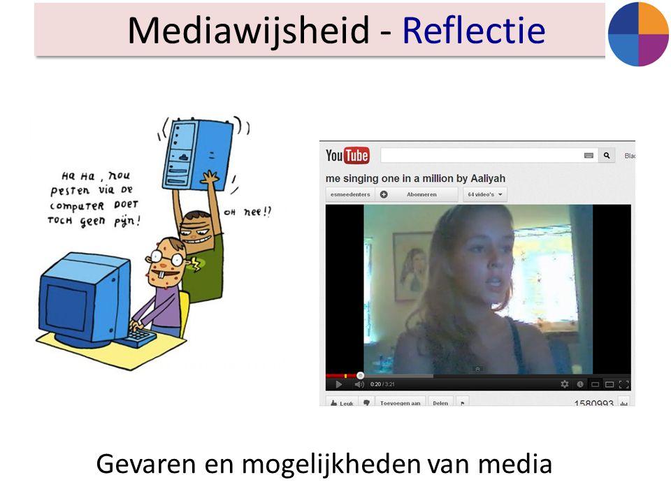 Mediawijsheid - Reflectie Gevaren en mogelijkheden van media