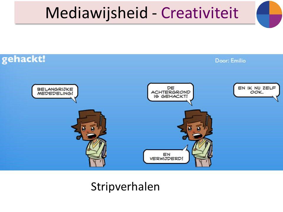 Mediawijsheid - Creativiteit Stripverhalen