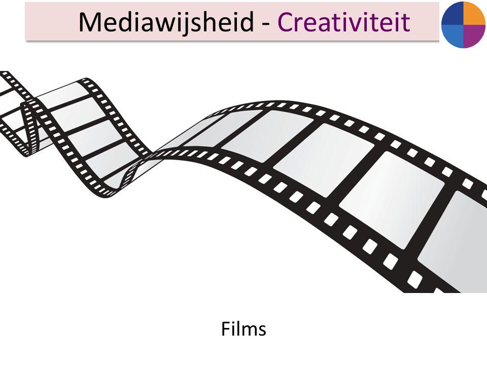 Films Mediawijsheid - Creativiteit