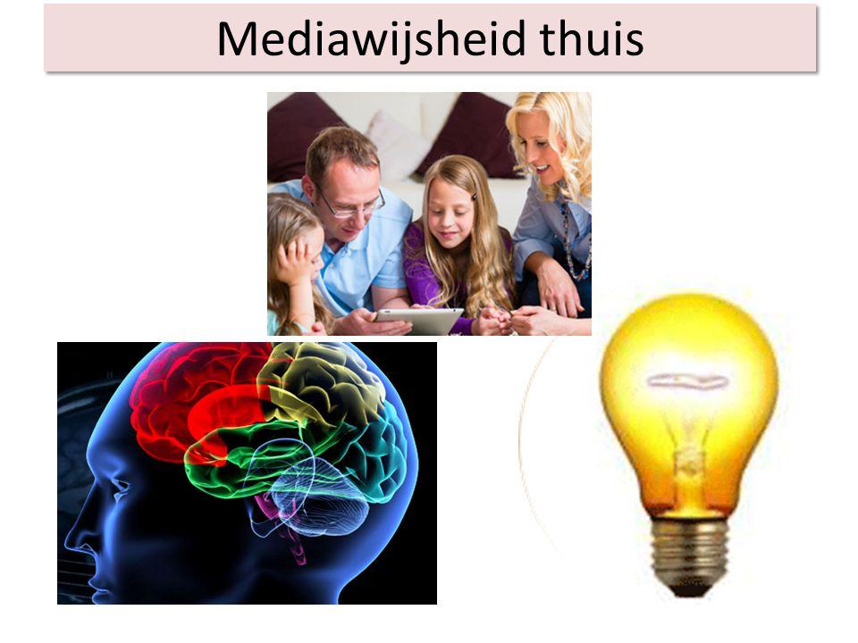 Mediawijsheid thuis