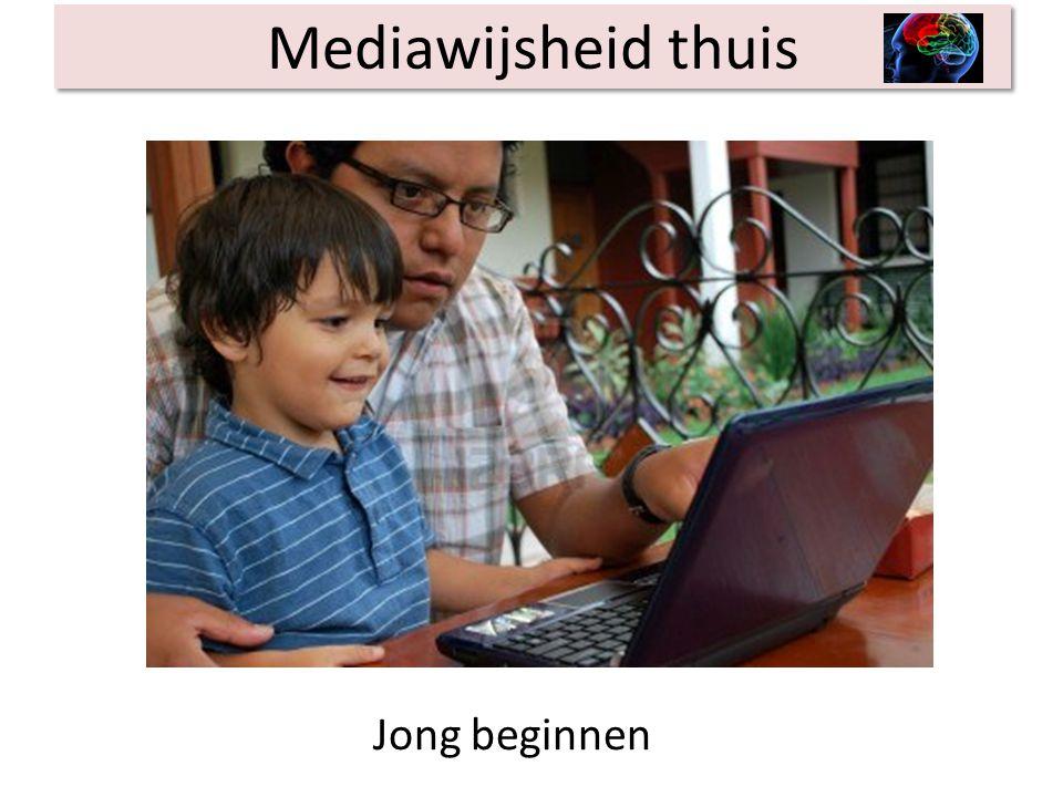 Mediawijsheid thuis Jong beginnen