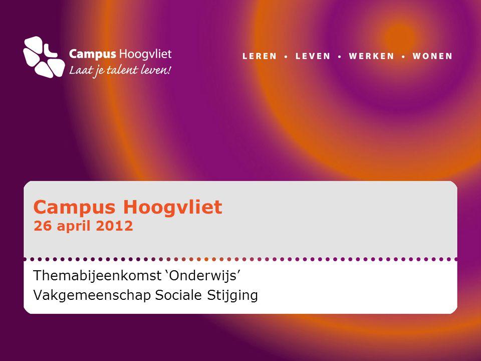 Campus Hoogvliet is… Een groep van zes gebouwen, totaal circa 40.000 m2.