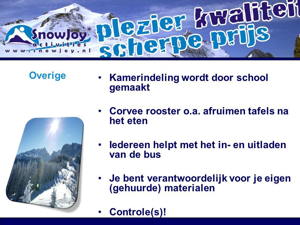 """Overige """"Ouderformulier"""" """"Wintersport 2013 Buitenlandse Reis"""" Tekenen door Ouder(s)/verzorger(s) en na passessie inleveren! Controleren bij inleveren"""