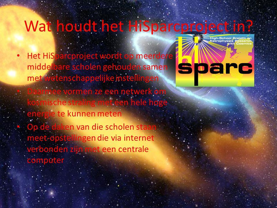 Wat houdt het HiSparcproject in.