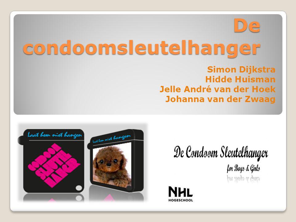 De condoomsleutelhanger Simon Dijkstra Hidde Huisman Jelle André van der Hoek Johanna van der Zwaag