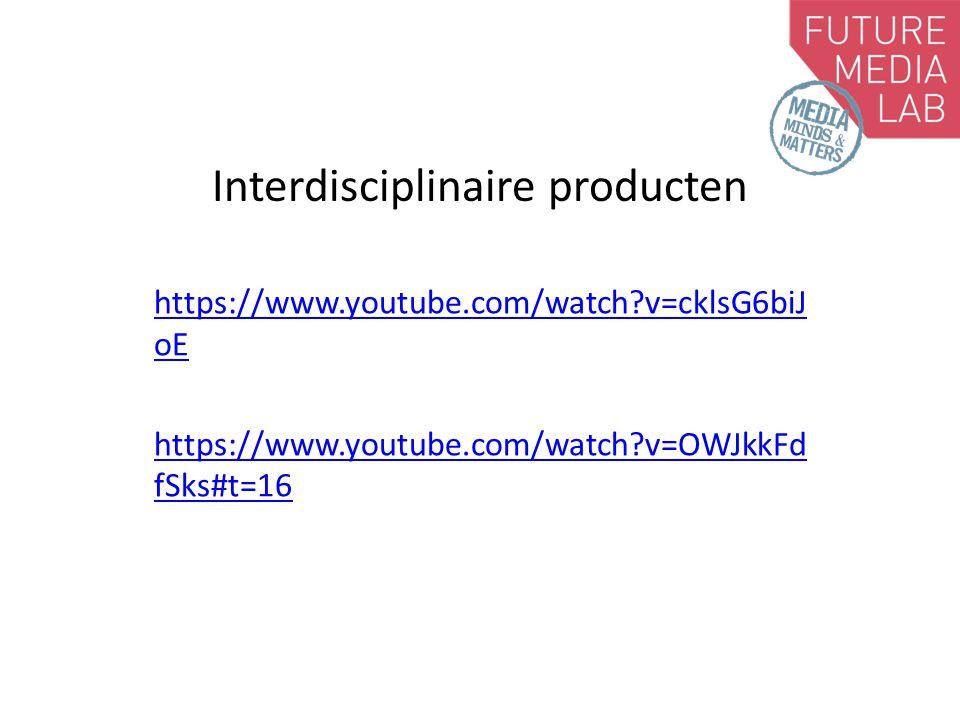 Interdisciplinaire teams