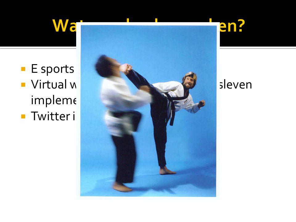  E sports  Virtual worlds en Gaming in bedrijfsleven implementeren  Twitter interview