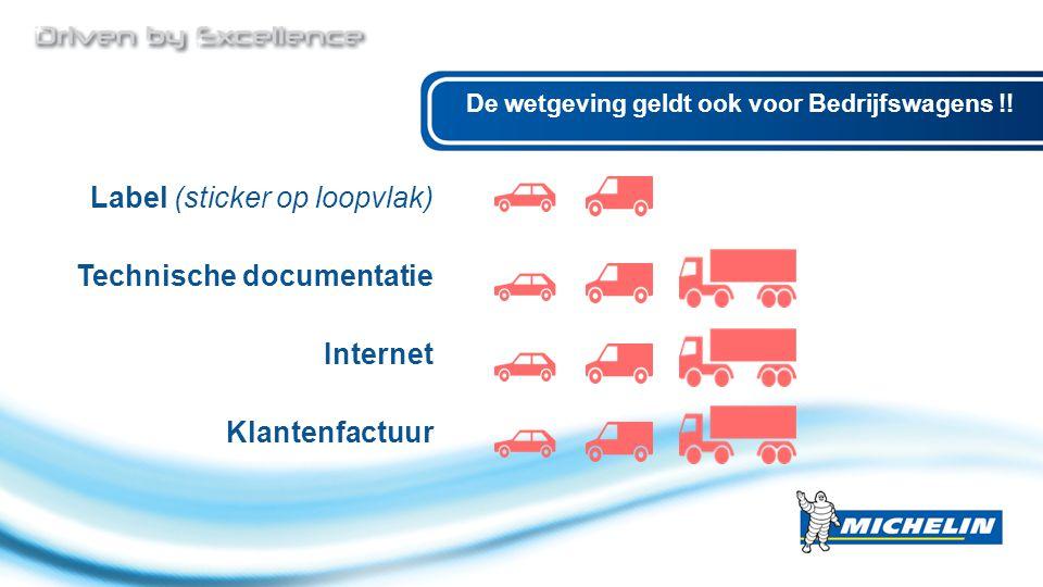 De wetgeving geldt ook voor Bedrijfswagens !.