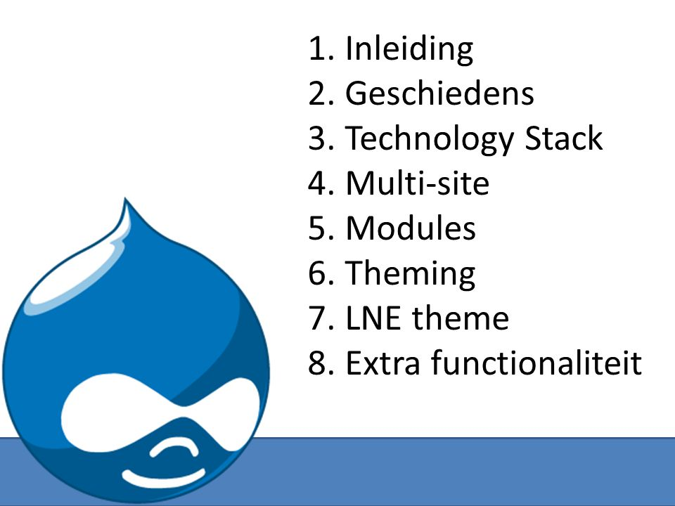 Identificeren van secties in het ontwerp header intro main sidebar 6. Theming