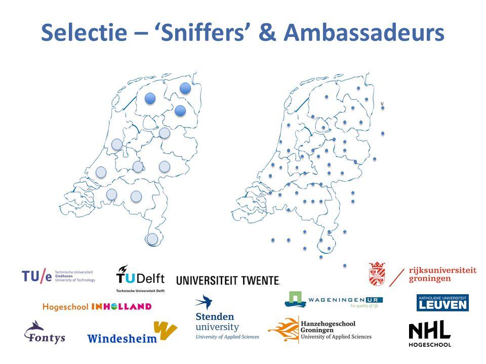 Selectie – 'Sniffers' & Ambassadeurs v v