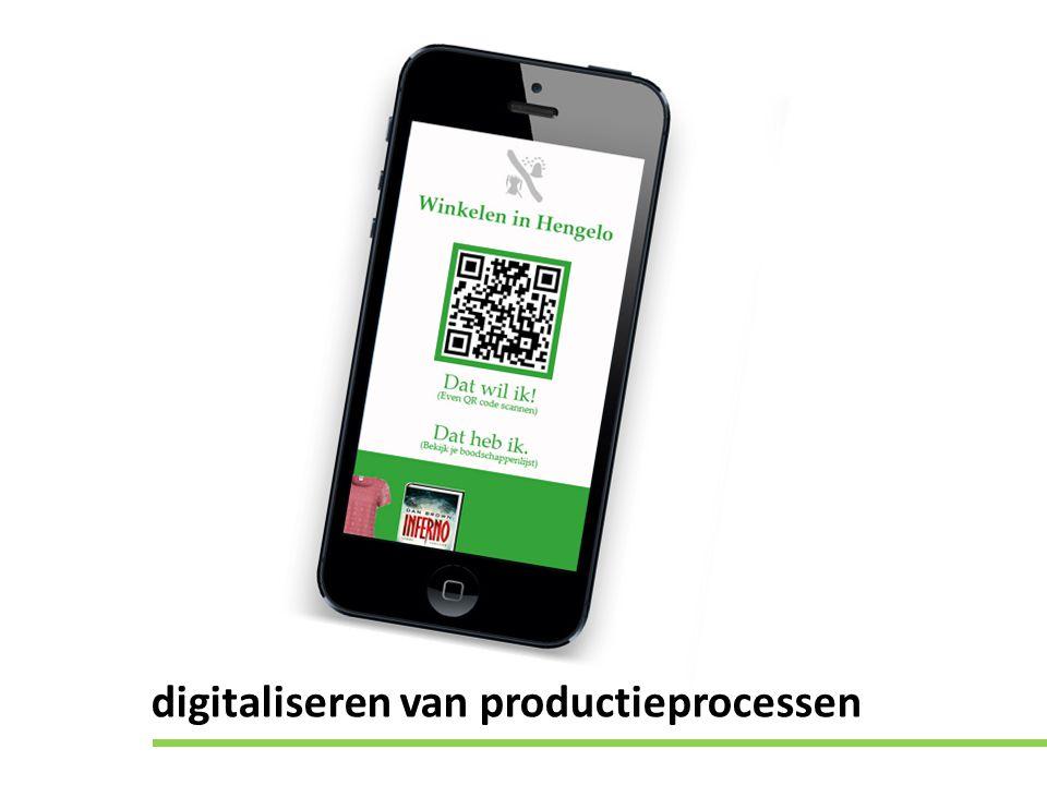 digitaliseren van productieprocessen