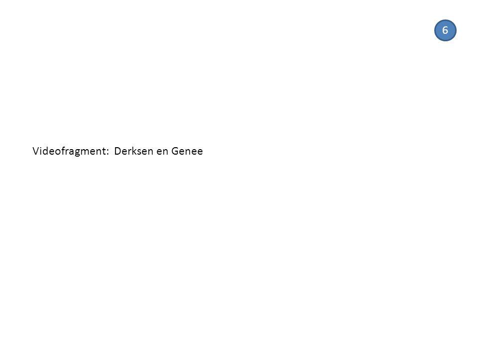 Videofragment: Derksen en Genee 6