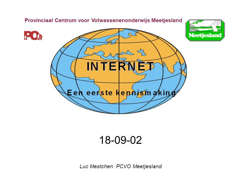 18-09-02 Luc Mestchen PCVO Meetjesland Provinciaal Centrum voor Volwassenenonderwijs Meetjesland