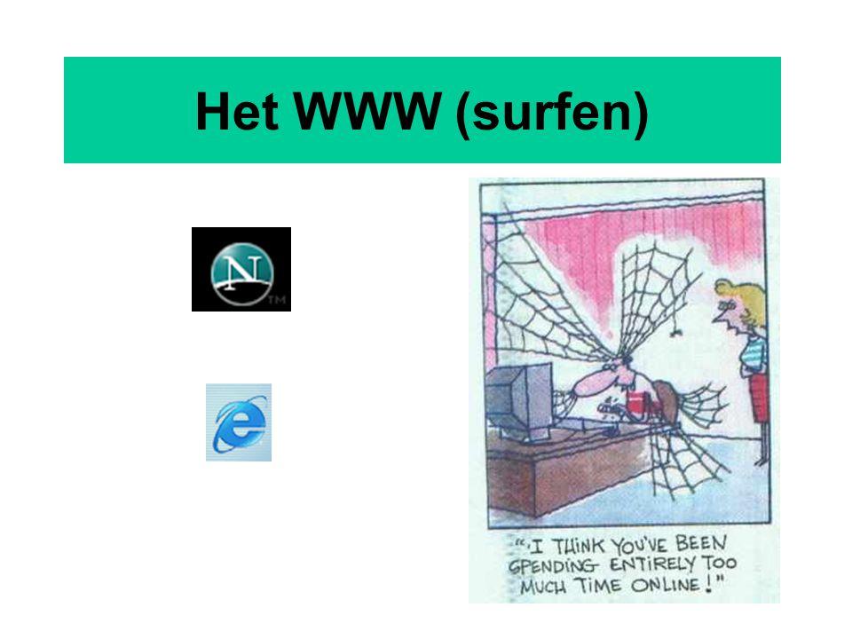 20 Het WWW (surfen)
