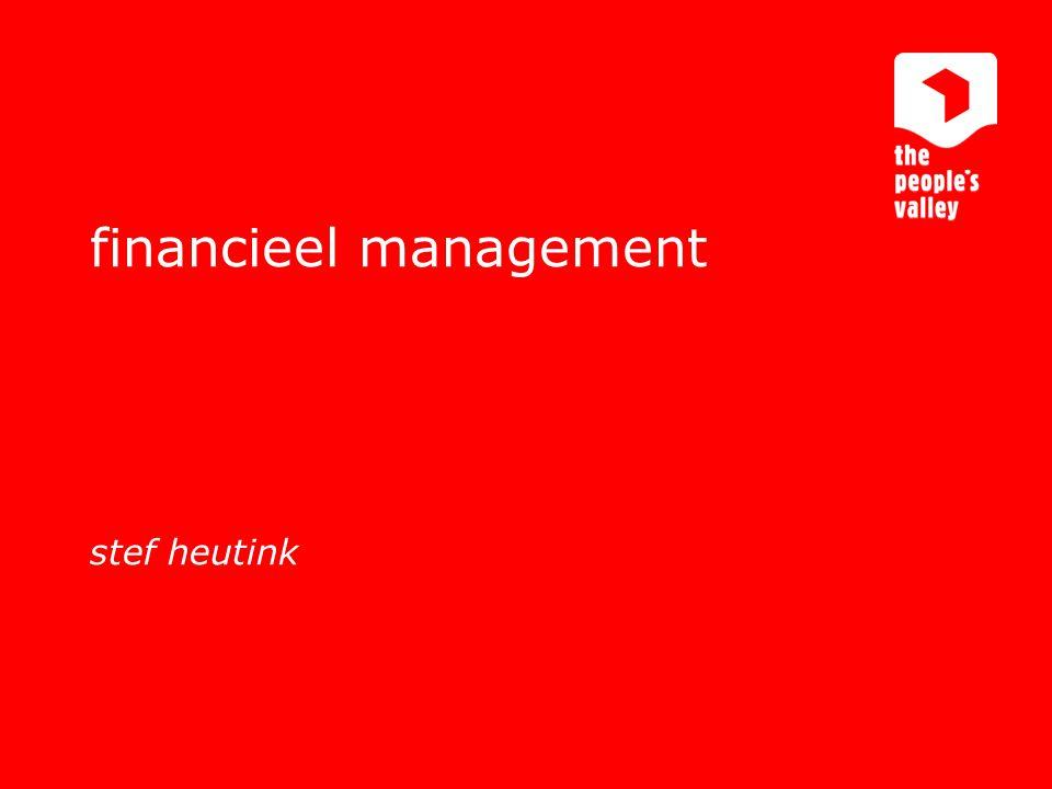 interactive marketing communications financieel management stef heutink