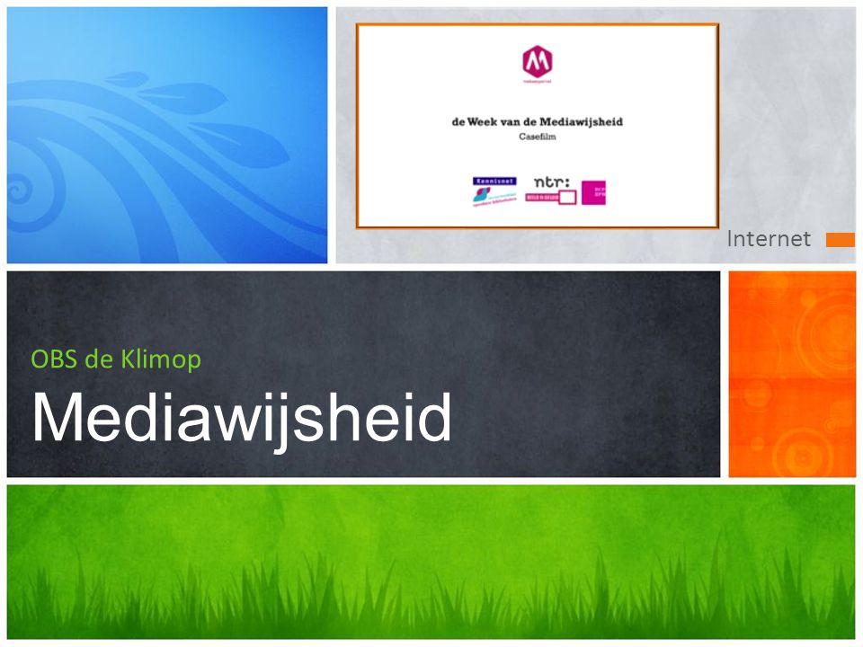 Internet OBS de Klimop Mediawijsheid