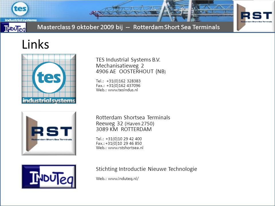 Links TES Industrial Systems B.V.