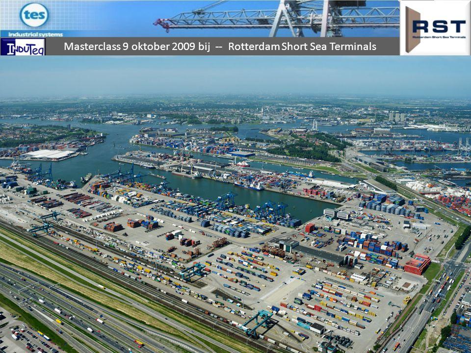 Short Sea Terminal Terminal die zich toelegt op het verladen van containers op coasters.