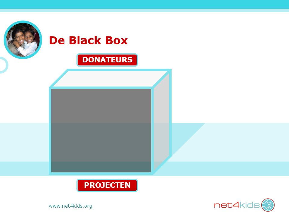 www.net4kids.org De Black Box PROJECTEN DONATEURS